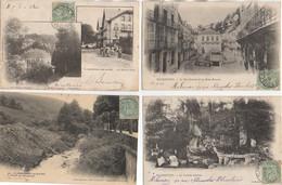 88 PLOMBIERES Beau LOT De 18 Cartes Différentes Et Ayant Voyagées En 1902 - Plombieres Les Bains