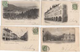 88 REMIREMONT Beau LOT De11 Cartes Différentes Et Ayant Voyagées En 1902 - Remiremont