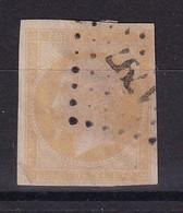 D217 / LOT NAPOLEON N° 13A CITRON OBL COTE 85€ - 1853-1860 Napoleon III