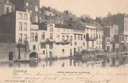 405.CHARLEROI. VIEILLES MAISONS SUR LA SAMBRE - Charleroi