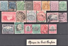 Lot De 20 Timbres Oblitérés, Neufs Et Différents De Afrique Du Sud Anglais - Lots & Kiloware (max. 999 Stück)