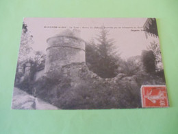 CP 70  -  Echenoz-le-Sec , La Tour - Reste Du Château Incendié Par Les Allemands En 1870 - Otros Municipios