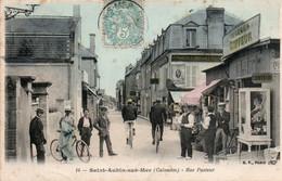 SAINT AUBIN SUR MER RUE PASTEUR COIFFEUR GEORGES COLORISEE TBE - Saint Aubin