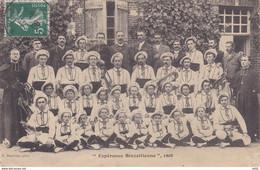 EURE ET LOIR BREZOLLES ESPERANCE BREZOLLIENNE 1908 - Autres Communes