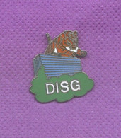 Rare Pins Pin's De Tigre Egf Démons Et Merveilles M465 - Animales