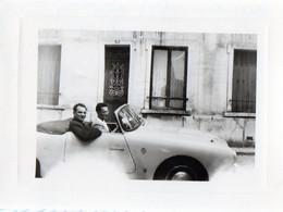 Photo Authentique -  Voiture Ancienne - ARGENTEUIL,  Départ Pour ....?    24 Aout 1957 - Places