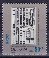 EUROPA LITUANIE Yv 485 MNH Neufs** - - 1994