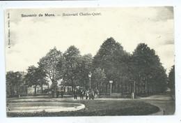 Mons Boulevard Charles Quint ( Très Rare ) - Mons