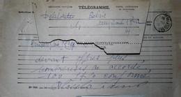 G 12 Lettre Ou Carte Ou Document   Récépissé De Mandat - Télégraphes Et Téléphones