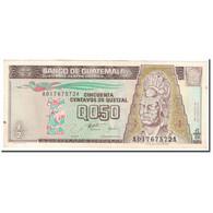 Billet, Guatemala, 1/2 Quetzal, 1996, 1996-08-28, KM:96a, TTB - Guatemala