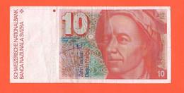 Switzerland 10 Francs 1990 Svizzera Suisse Schweiz - Suisse