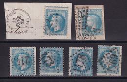 D219 / LOT NAPOLEON N° 29 OBL - 1863-1870 Napoleon III Gelauwerd