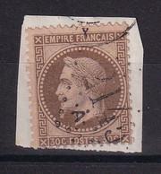 D219 / LOT NAPOLEON N° 30 OBL COTE 25€ - 1863-1870 Napoleon III Gelauwerd