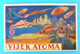 VIJEK ATOMA (BobisSplit) - Yugoslavia Old Album 1960's * EXCELLENT * Jugoslavia Yougoslavie Jugoslavija Jugoslawien RRRR - Non Classificati
