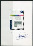 1890-2010 Niet Aangenomen Ontwerp Koninklijke Landsbond - KLBP  FRCPB - Ontwerp Ingrid Daenen Met Handtekening   Ref 2 - Projets Non Adoptés