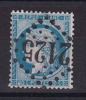 D219 / LOT CERES N° 37 OBL / VARIETE 2 DE 20C - 1870 Besetzung Von Paris