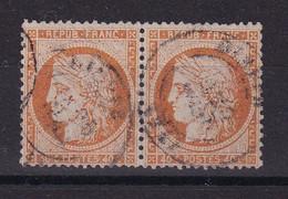 D219 / LOT CERES N° 38 PAIRE OBL COTE 28€ - 1870 Beleg Van Parijs