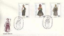 FDC - 15 Octobre 1973 - Peru