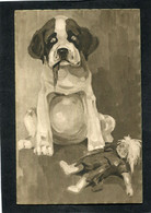 CPA - Illustration - Chien - Hunde
