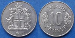 ICELAND - 10 Kronur 1978 KM# 15 Republic (1944) - Edelweiss Coins - Islandia