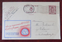 """EP Belgique Publibel 793 """" Imperméable C.C.C. """" - Bruxelles Vers Tubize 1949 - Publibels"""