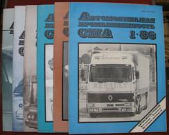 USSR  Soviet Russia Magazine US Automotive Industry 1986 6 Pcs №1,2,3,4,5,6 - Slav Languages