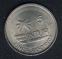 "Kuba, Visitors Coinage, 5 Centavos 1981, KM 412.1, Thin ""5"" - Cuba"