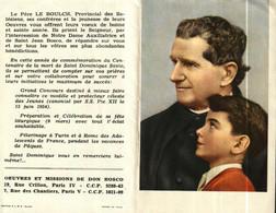 Petit Calendrier 1957 Religieux   Oeuvres Et Missions De DON BOSCO - Petit Format : 1941-60
