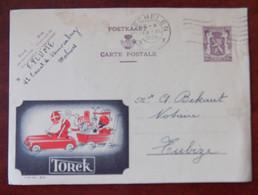 """EP Belgique Publibel 878 """" Torck """" - Saint-Nicolas - Mechelen Vers Tubize 1950 - Publibels"""