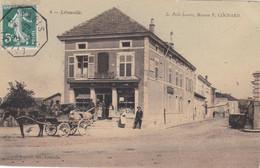 LEROUVILLE - MEUSE  -  (55)  -  CPA TRES ANIMEE EN COULEUR DE 1909.... - Lerouville