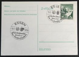Deutsche Reich 1939 Postkarte Special Stempel Army Propaganda Essen - Brieven En Documenten