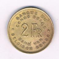 2 FRANCS 1947   BELGISCH CONGO /6392/ - 1945-1951: Regency