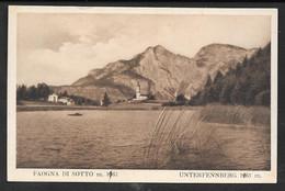 FAVOGNA DI SOTTO  UNTERFENNBERG NON VG. BOLZANO N° B920 - Bolzano