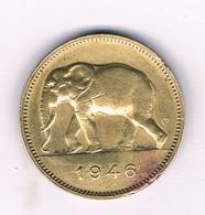 2 FRANCS 1946   BELGISCH CONGO /6393/ - 1945-1951: Regency