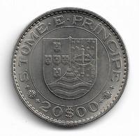 SAO TOME ET PRINCIPE - 20 ESCUDOS 1971 - Sao Tome And Principe