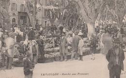 CPA (84) CAVAILLON Marché Aux Primeurs Marchand Ambulant  2 Scans - Cavaillon
