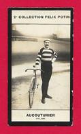 Photographie Argentique Félix Potin - 2ème Collection - Champion De Cyclisme Hippolyte Aucouturier - Félix Potin