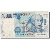 Billet, Italie, 10,000 Lire, 1984, 1984-09-03, KM:112d, B+ - 10000 Lire