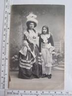 10 Aube Nogent Sur Seine Photographe Lacoste Enfant Femme Mode Costume Chapeau éventail Dans L'état - Nogent-sur-Seine
