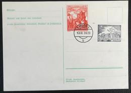 Deutsche Reich 1939 Postkarte Special Stempel Grosdeutscheland Wien Propaganda - Brieven En Documenten