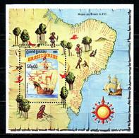 GUINEE BISSAU. BF 41 De 1983. Caravelle/Brasiliana'83. - Barcos