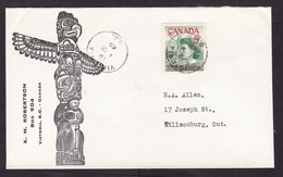 Canada: Cover, 1965, 1 Stamp, Pauline Johnson, Women, Female History (cover Is A Little Shortened) - Covers & Documents