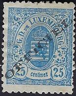 Luxembourg - Luxemburg - Timbres-Armoires  1880  25C.  Officiel  Certifié    Michel 18    * - 1859-1880 Wappen & Heraldik