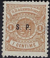 Luxembourg - Luxemburg - Timbres-Armoires  1881  1C. S.P. Gomme *  Michel 27  I - 1859-1880 Wappen & Heraldik
