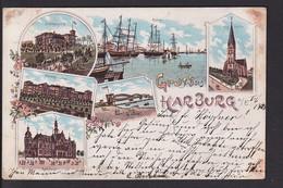A27x /   Litho Harburg 1898 - Harburg