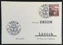 Deutsche Reich 1939 Postkarte Special Stempel Propaganda Tag Der Polizei Berlin - Brieven En Documenten