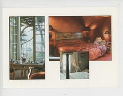"""Etretat, Domaine Saint Clair """"Le Donjon"""" Hotel-Restaurant De Charme... Multivues Confort Et Intimité (cp Vierge) - Etretat"""