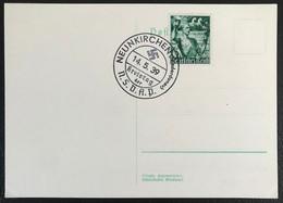 Deutsche Reich 1939 Postkarte Special Stempel Propaganda Neunkirchen - Covers & Documents