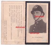 Oorlog Guerre Albert Hendryckx Oostende Politie Verzetsman Gesneuveld Te KZ Nordhausen / D Fabriek V2 Bommen - Devotion Images
