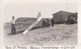 54 - PONT SAINT VINCENT - Photo Originale 1935 - Départ D'un Planeur D'Apprentissage - Places